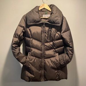 Brown Marc Puffer Coat size small